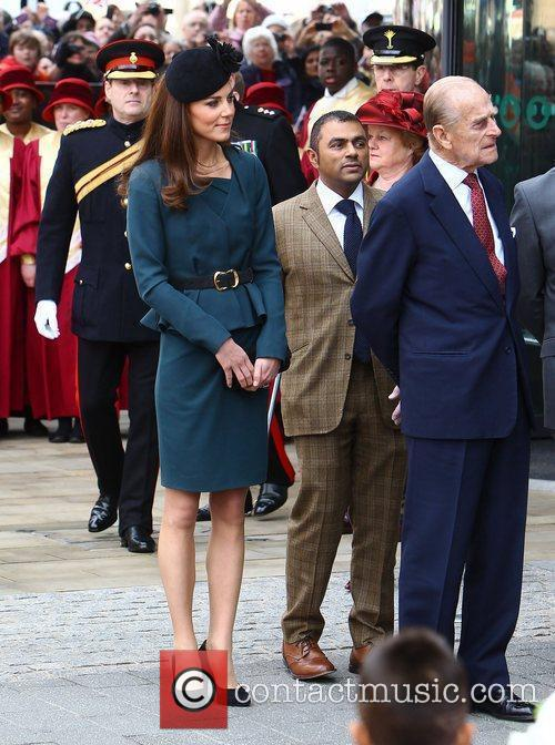 Duchess, Kate Middleton and Prince Philip 2