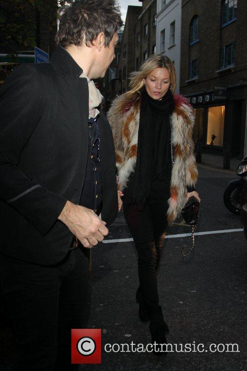Kate Moss and Jamie Hince  out and...
