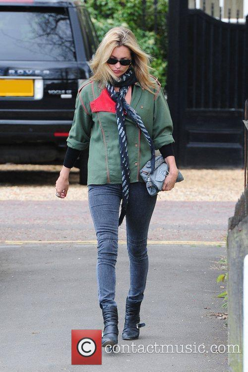 Kate Moss out and about in north London...