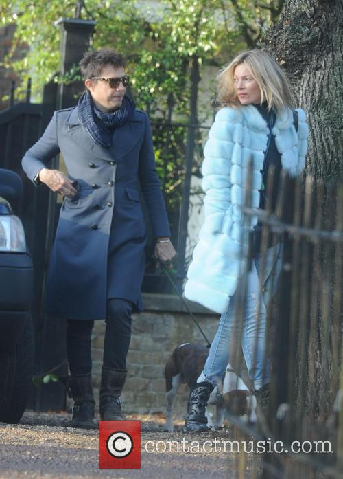 Kate Moss, Jamie Hince, Archie and Highgate 10