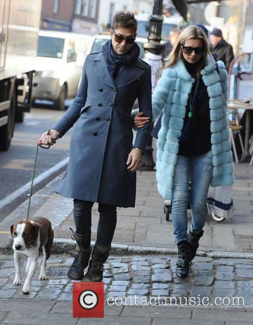 Kate Moss, Jamie Hince, Archie and Highgate 8