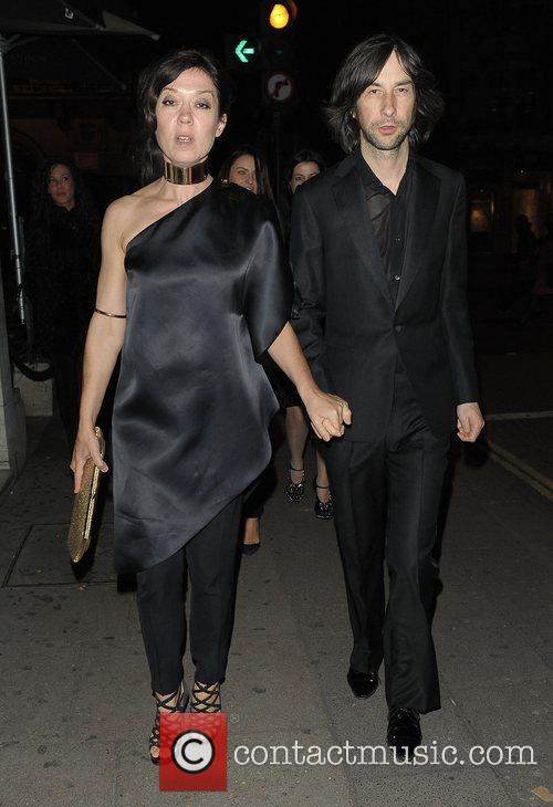 Bobby Gillespie at party for Kate Moss'...