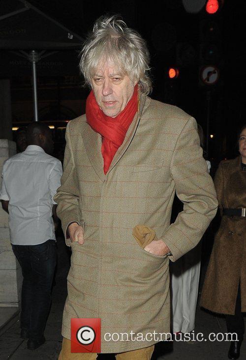 Bob Geldof Kate Moss Book Launch
