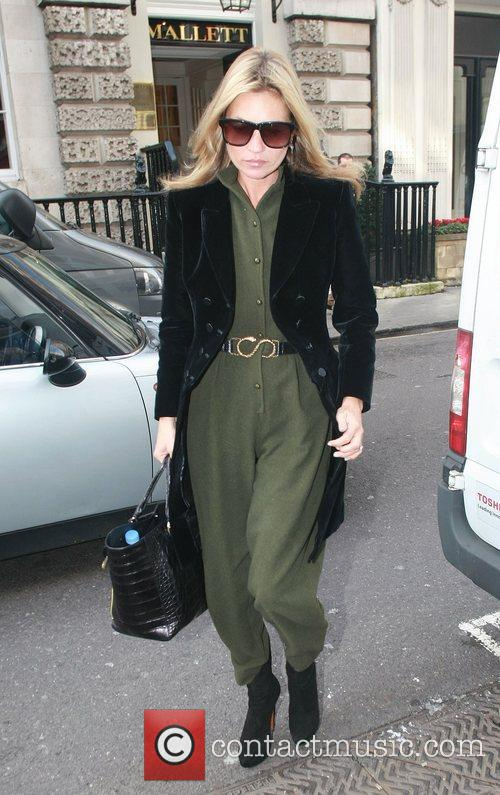 Kate Moss out and about in London London,...