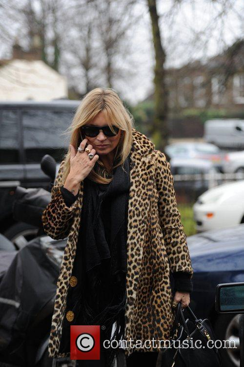 Kate Moss visits her new house in north...