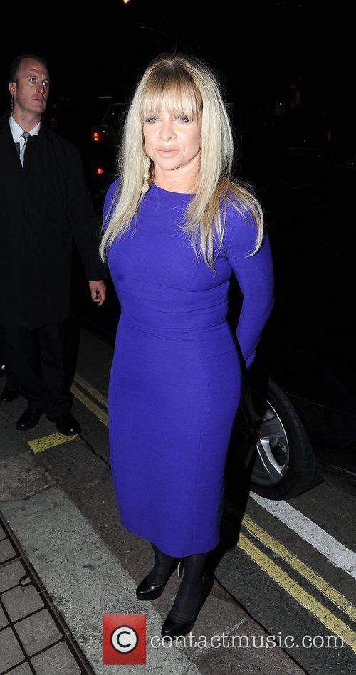 Jo Wood at the after party celebrating the...