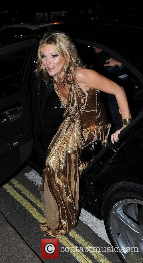 kate moss in a gold dress at 4177158