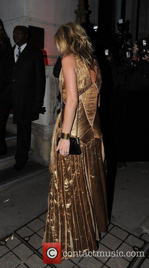 kate moss in a gold dress at 4177160