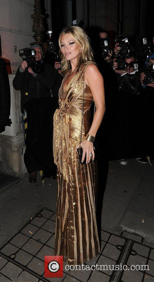 kate moss in a gold dress at 4177168