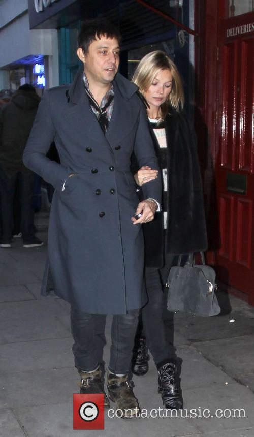 Kate Moss, Jamie Hince, Notting Hill. On