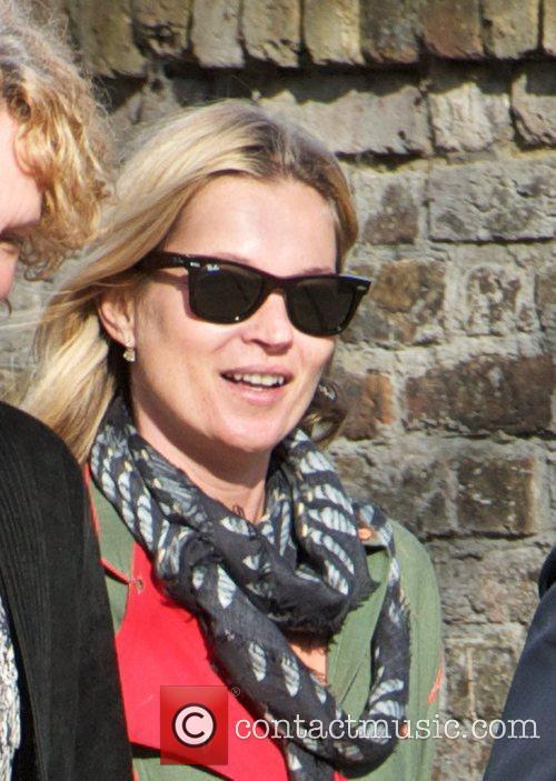 Kate Moss out and about in Highgate