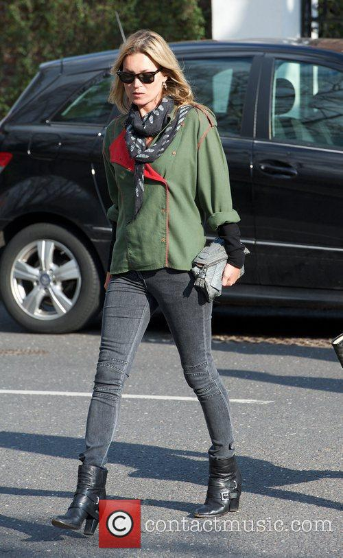 kate moss out and about in highgate 5823690