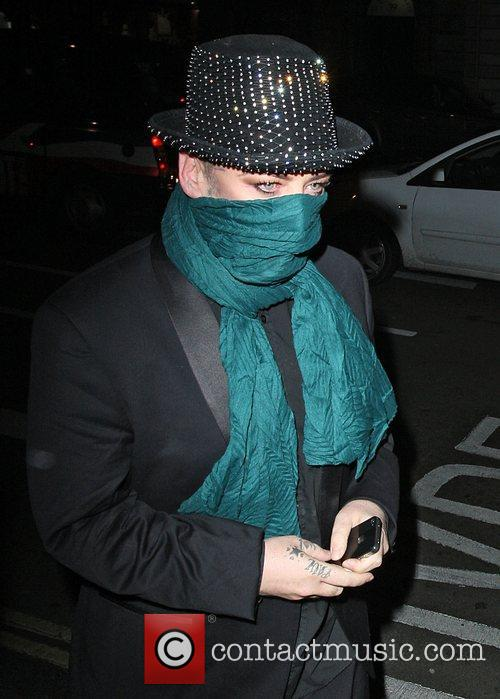 boy george at the after party celebrating 4177180
