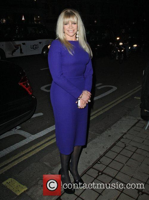 Jo Wood,  at the after party celebrating...