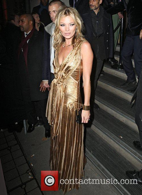 kate moss in a gold dress at 4177176
