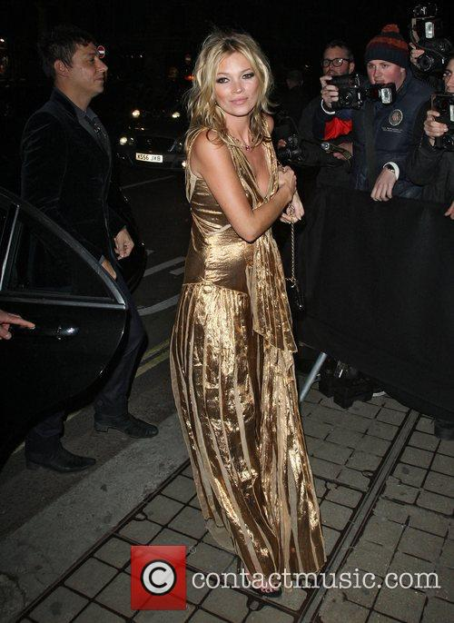 kate moss in a gold dress at 4177183
