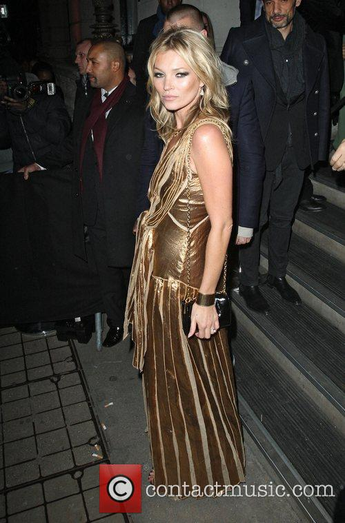 kate moss in a gold dress at 4177188
