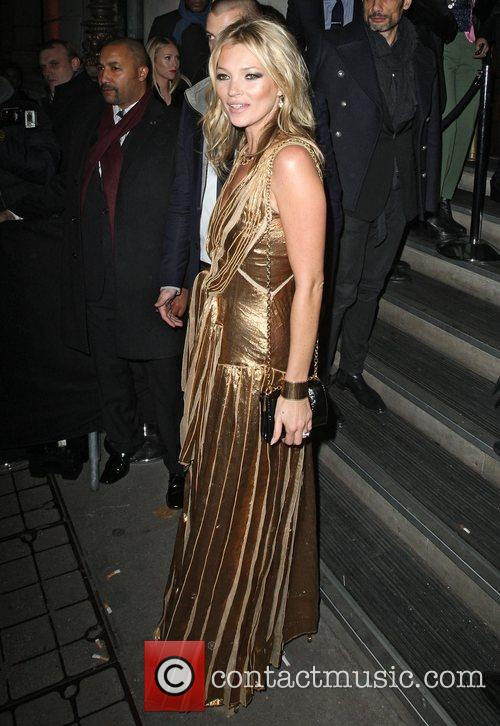 kate moss in a gold dress at 4177201