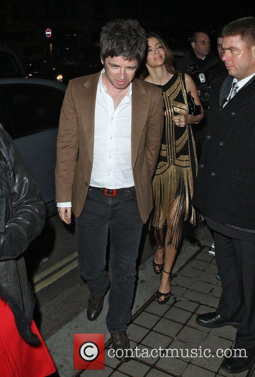 Noel Gallagher and Sara Macdonald,  at the...