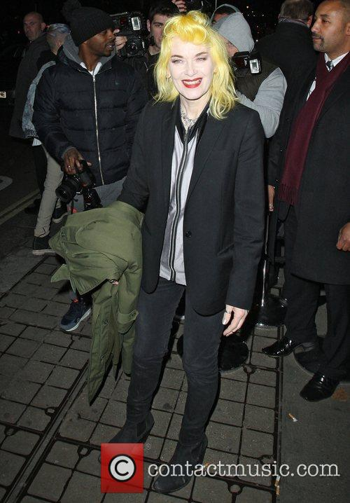 Pam Hogg,  at the after party celebrating...
