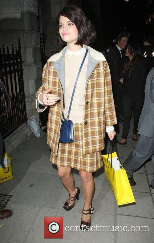 Pixie Geldof,  at the after party celebrating...