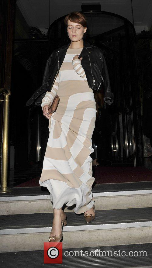 Florence Welch leaves Kate Moss Book Launch