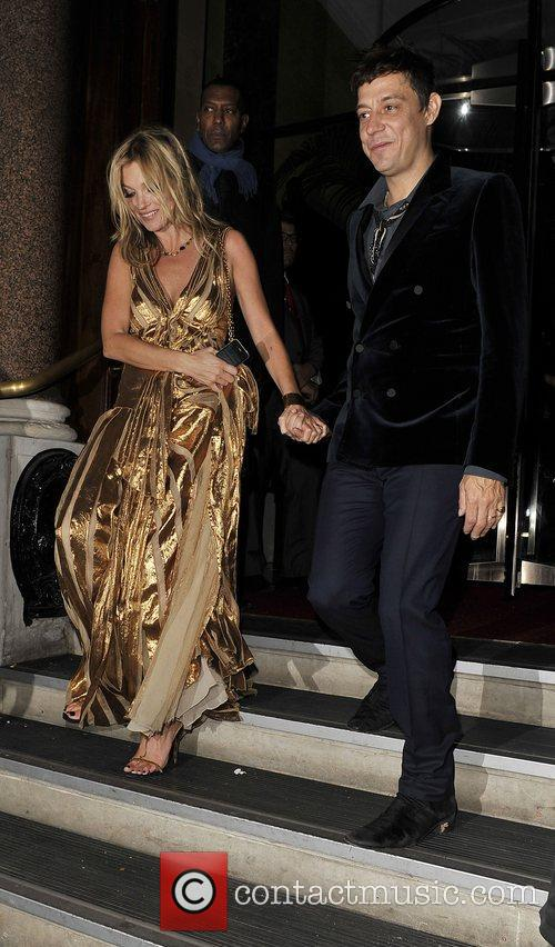 Kate Moss and Jamie Hince at her book launch