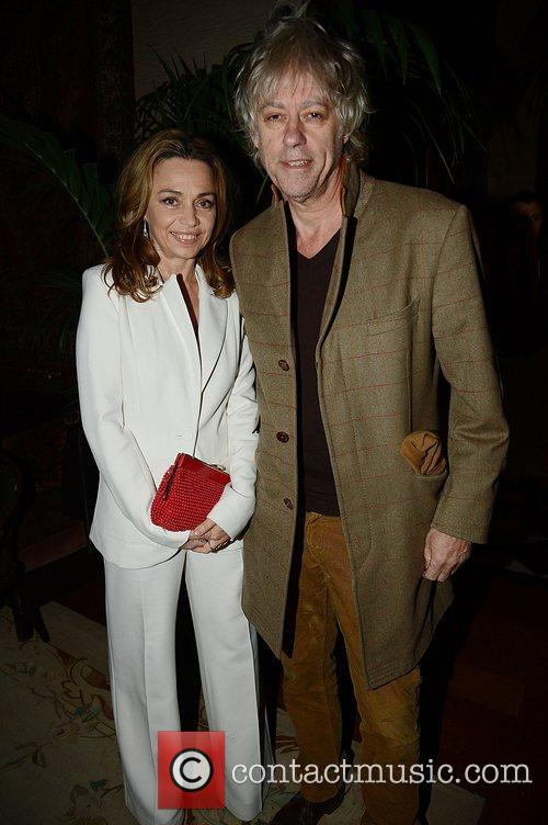 Jeanne Marine and Bob Geldof  Marc Jacobs...