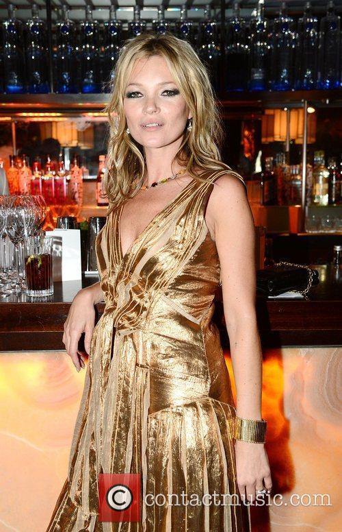 Kate Moss  Marc Jacobs hosted the launch...