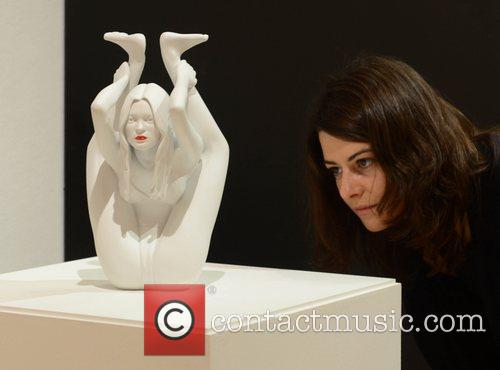 Marc Quinn's, Kate Moss, Bonhams, Contemporary Art and Design 7