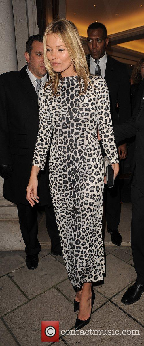 Kate Moss leaving the Marc Jacobs store in...