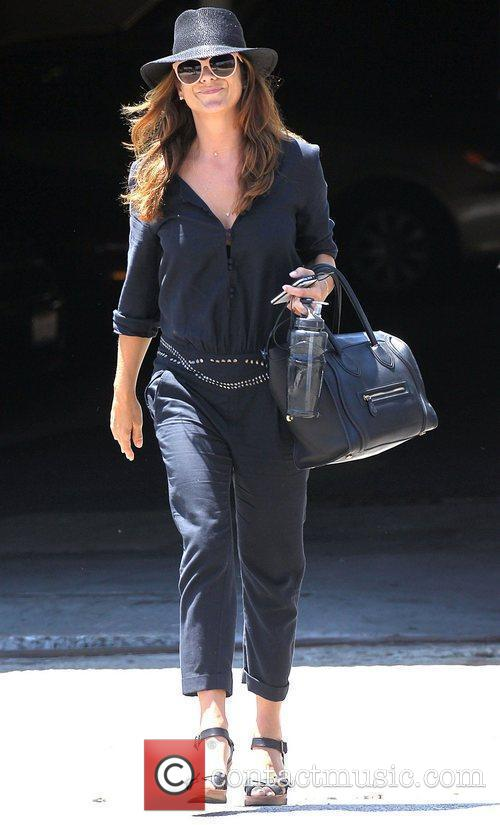 Kate Walsh visits a salon in West Hollywood...