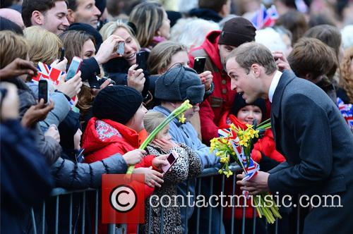 Prince William, Duke, Cambridge, Catherine, Duchess and Peterborough City Hospital. It 8