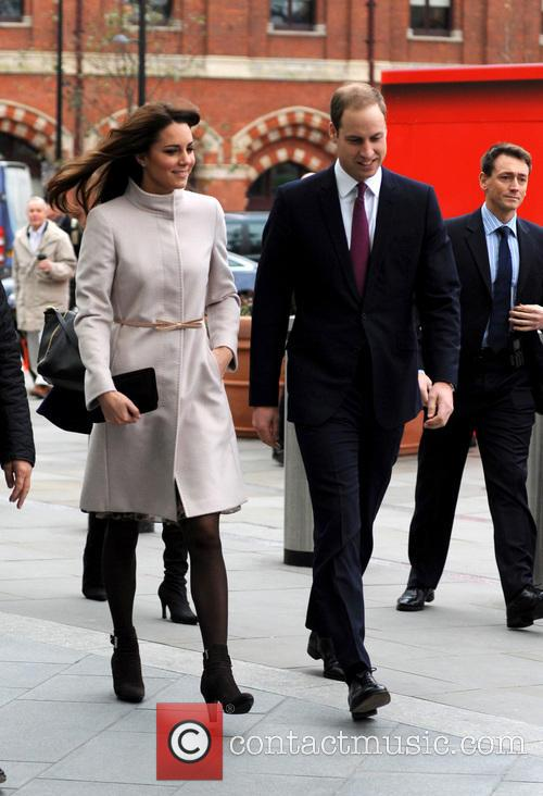 Prince William, Duke, Cambridge, Catherine, Duchess, Kings Cross, Peterborough and Peterborough City Hospital. It 1