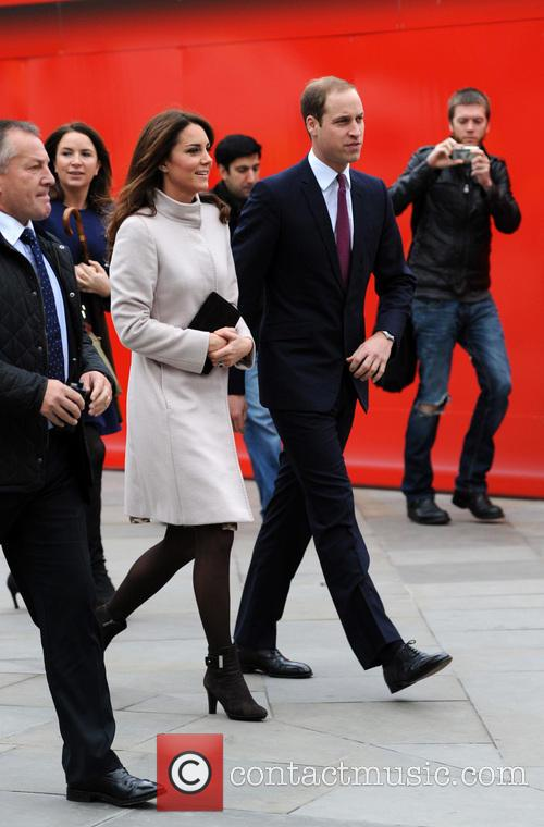 Prince William, Duke, Cambridge, Catherine, Duchess, Kings Cross, Peterborough, Peterborough City Hospital. It