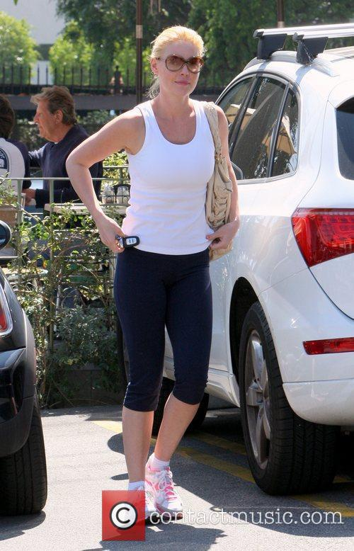 Katherine Heigl going grocery shopping in Los Feliz...