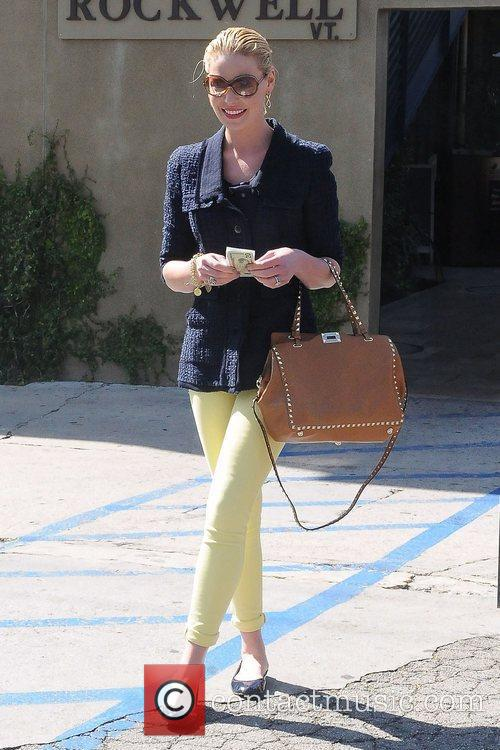 Katherine Heigl leaving lunch in Hollywood Los Angeles,...