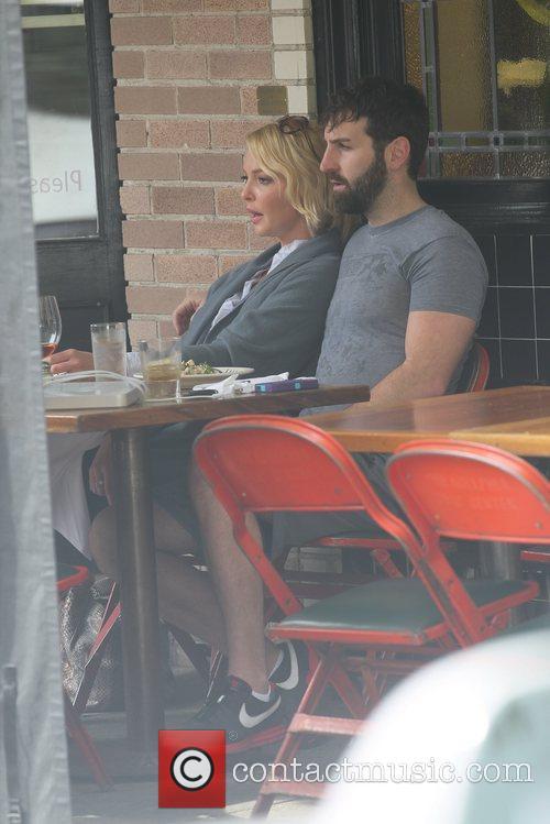 Having lunch with Josh Kelley in Los Feliz