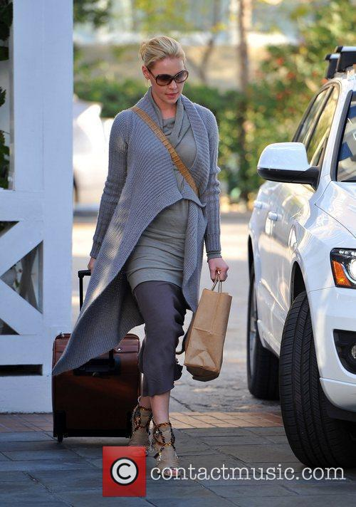 Katherine Heigl  leaving her hotel  Los...