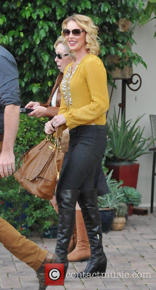 Katherine Heigl  out and about in West...