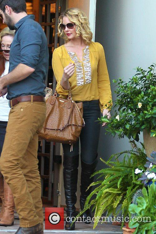 Katherine Heigl  in West Hollywood on her...