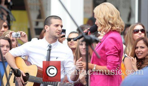 Mark Ballas and Katherine Jenkins at The Grove...