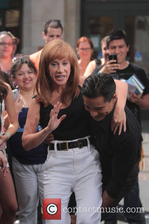 Kathy Griffin and Mario Lopez 4