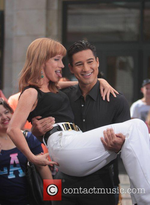 Kathy Griffin and Mario Lopez 5