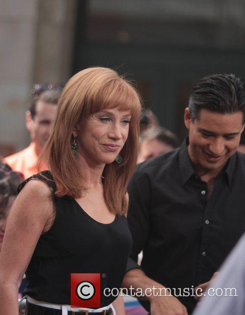 Kathy Griffin and Mario Lopez 6