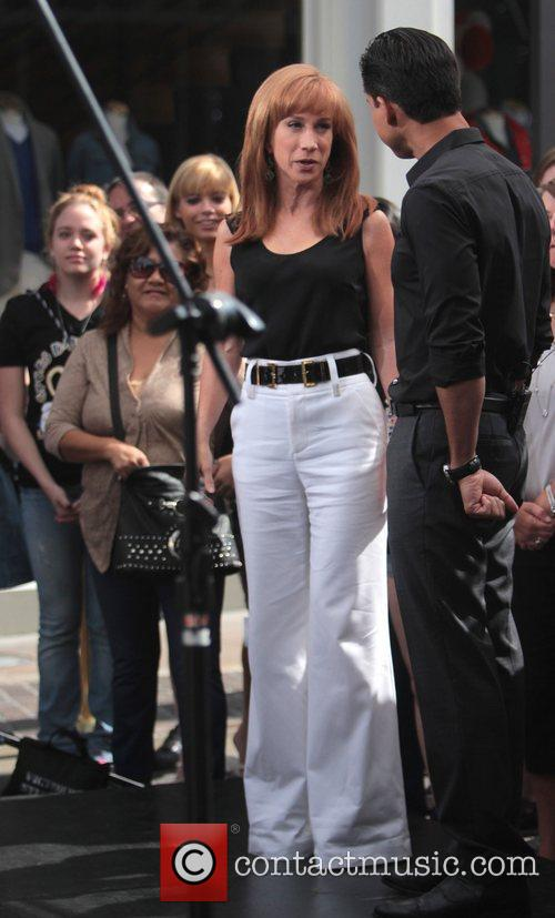 Kathy Griffin and Mario Lopez 8