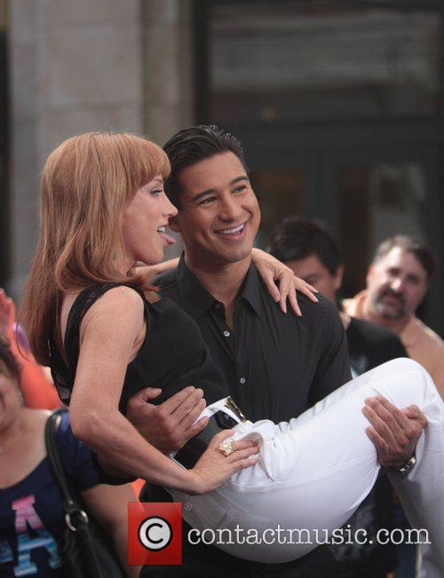 Kathy Griffin and Mario Lopez 10