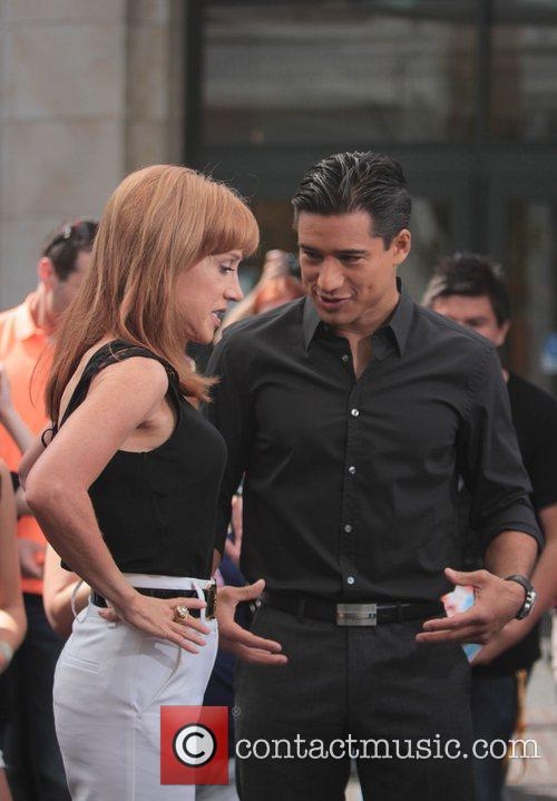 Kathy Griffin and Mario Lopez 11