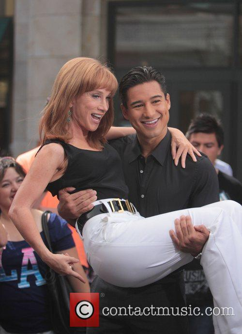 Kathy Griffin and Mario Lopez 1