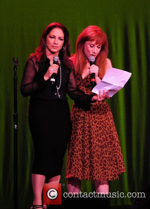 Gloria Estefan and Kathy Griffin 2